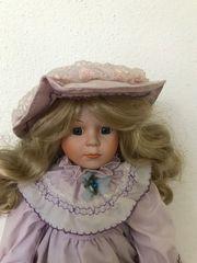 Sammler Puppe 38 cm Porzellan