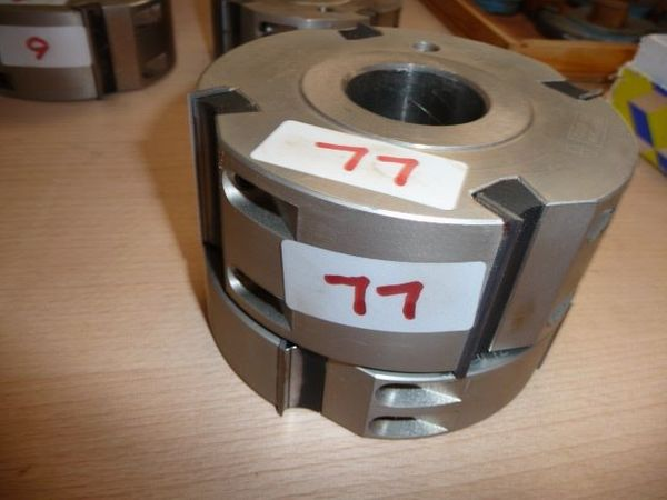 ZUANI -FWG-Jumbo-Hobel-Fügekopf bestückt mit HM-Wendem