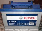 Bosch Autobatterie NEU 60 Ah