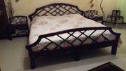 Original Bambus-Doppelbett aus Thailand