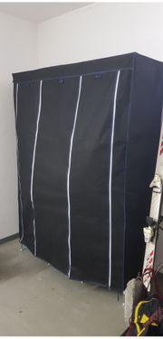 Textilschrank neuwertig in schwarz