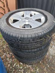 1 Satz Alufelgen neuw Reifen