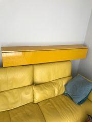 IKEA Besta Burs Wandregal gelb