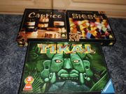 Tikal Siesta Caprice Holzspiele TOP