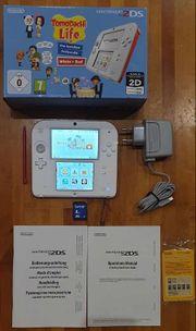 Nintendo 2DS Console mit Spiel