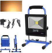 LED-BATTERIE-Handlampe IP65 Arbeitsscheinwerfer 30W Warmweiß