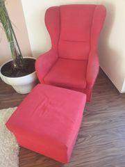 Moderner gemütlicher Sessel