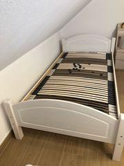 Bett mit Lattenrost 110 x