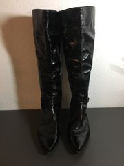 Stiefel schwarz Gr 41