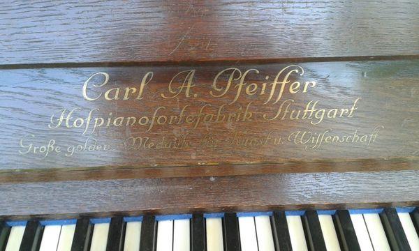 Klavier mit schönem Klang