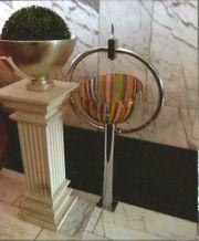 Hochwertiges Design-Waschbecken aus Murano-Glas