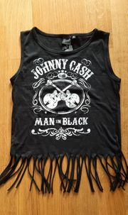 JOHNNY CASH Shirt Gr S