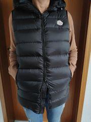 Moncler Damen Weste Schwarz Jacke