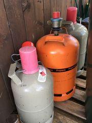 3 Gasflaschen