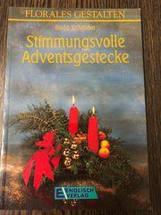 Buch Adventsgestecke Advent Weihnachten Deko