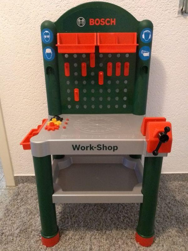 bosch spielzeug werkbank kinderspielzeug