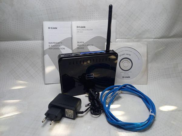 D-Link DIR-300 Wireless G Router DIR-300, komplett, nw.