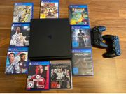PlayStation 4 mit 500gb inkl