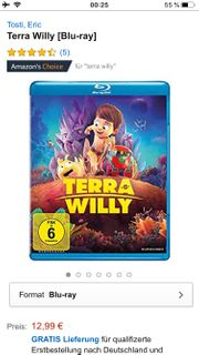 DVD Blu-ray Terra Willy Animationsfilm