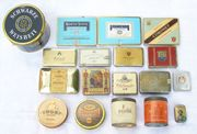 Alte Dosen Zigarettendosen Konvolut 18