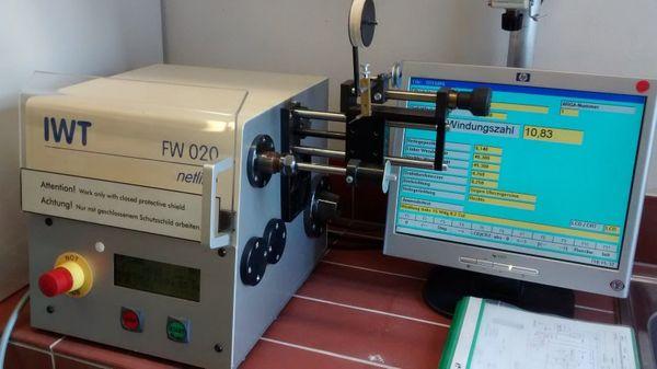 Wickelmaschine FW 020 IWT