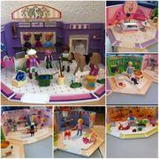 6 verschieden Geschäfte von Playmobil