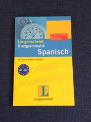 Buch Spanisch Grammatik
