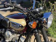Kawasaki W650 - wunderschönes Bike SCHECKHEFT