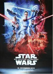 Plakat zur Premiere Star Wars 9