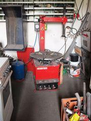 Reifenmontiergerät HRMM 1000 und Auswucht