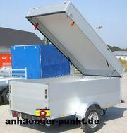 PKW Anhänger Kofferanhänger Koffer Aluminium