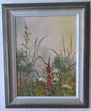 Wandbild Bild mit Blumen und