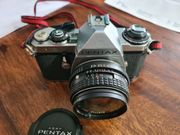 Pentax ME mit SMC 28