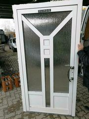 Aluminium Eingangstür 110 cm breit