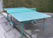 Tischtennisplatte von Kettler Alu-Platte klappbar
