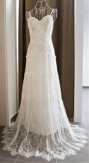 Vintage Hochzeitskleid aus Spitze und