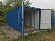 Container als Abstell- Lagermöglichkeit