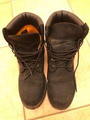 schwarze Timberland Schuhe