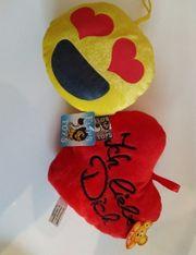 Herz und Emoji