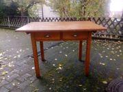 alter Küchentisch Holztisch mit 2