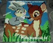 Micky Maus und Bambi Leuchtbilder
