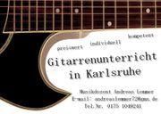 Gitarrenunterricht in Karlsruhe