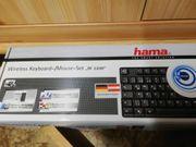 Hama Funk-Tastatur mit ext Mouse
