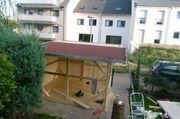 Baue Gartenhaus Blockhäuser anbauten vorbauten