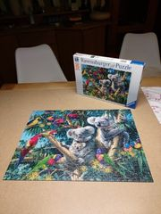 Puzzle Koalas im Baum von