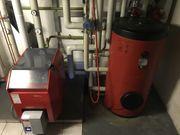 Heizung Öl-Gusskessel mit Boiler