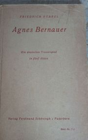 Agnes Bernauer Ein deutsches Trauerspiel