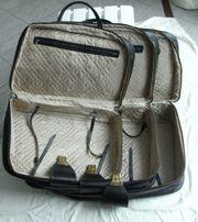 3-tlg KofferSet ineinander passend schwarz