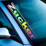 Zucker Hologramm Farben Aufklebe rOilslick