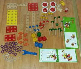 Holzspielzeug - Baufix Set